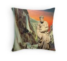Valley of Three Falls Throw Pillow