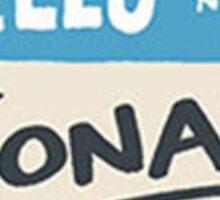 weezer jonas Sticker