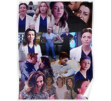 Amelia Shepherd Collage Poster