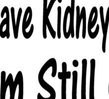 Kidney Cancer Sticker