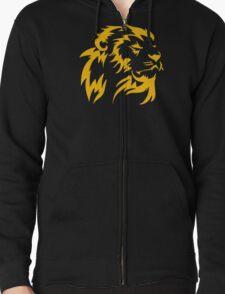 GYM LION BEAST UNLEASHED TRAIN INSAIYAN BODYBUILDING BEASTMODE Zipped Hoodie