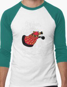 Hard Dalek Mens Funny T-Shirt Sheldon Cooper Dr Who Men Black TShirt W8 T-Shirt