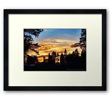 Return of the Sky Framed Print