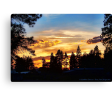 Return of the Sky Canvas Print