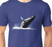 Humpback Whale Breaching Unisex T-Shirt