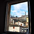 A piece of Lyon from the window by Rima Dadenji