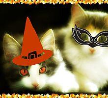 Have a Purrrfect Safe Halloween!!! © by Dawn M. Becker