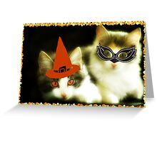 Have a Purrrfect Safe Halloween!!! © Greeting Card