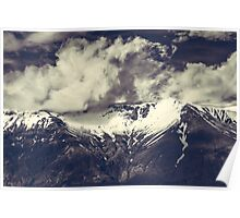 Cloudy MountainsVI Poster