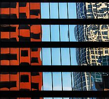 Los Angeles reflection #6 by luvdusty