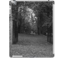 Cemetery Gate iPad Case/Skin
