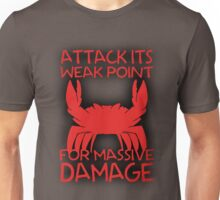 GIANT ENEMY CRAB -red- Unisex T-Shirt