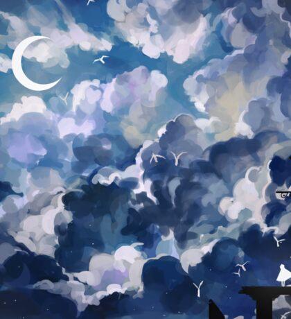 the sky-wanderer. Sticker