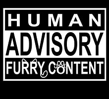 Advisory - FURRY CONTENT by 8Bit-Paws