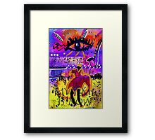 My Time is NOW Framed Print