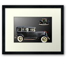 Chevrolet for christmas Framed Print