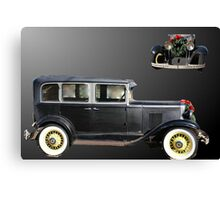 Chevrolet for christmas Canvas Print