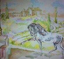 Tuscan Horse Cafe by Belinda Baynes