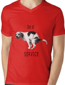 Out of service Mens V-Neck T-Shirt