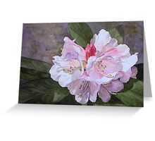 September Garden Greeting Card