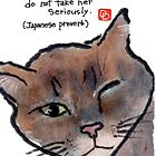 Proverbial Cat (Can You Ever Trust a Cat?) by dosankodebbie