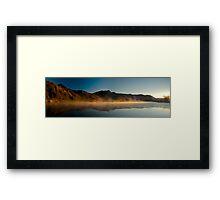 Sunrise at Paradise Framed Print