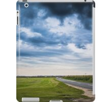 Empty road iPad Case/Skin