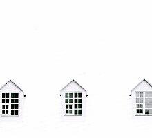 Trois Fenêtres by Valerie Rosen