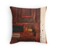 Private Residence Throw Pillow