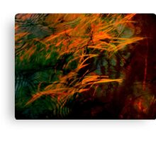 Brush Fire Canvas Print
