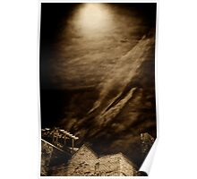 Night Curtain Poster