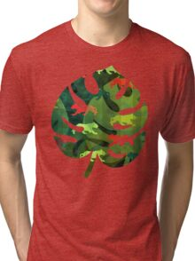 Jungle Camouflage Tri-blend T-Shirt
