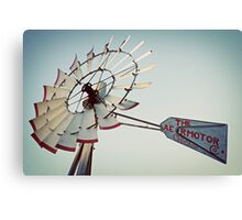 The Aermotor Co. Chicago Windmill Canvas Print