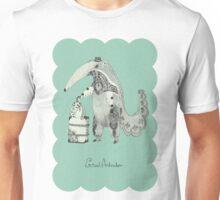 Beginning on your journey - Giant Anteater - Green Unisex T-Shirt