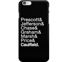 Life is Strange Helvetica Shirt iPhone Case/Skin