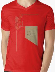 New Technology Commands Mens V-Neck T-Shirt