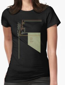 New Technology Commands Womens Fitted T-Shirt