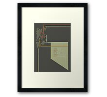 New Technology Commands Framed Print