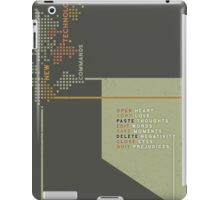 New Technology Commands iPad Case/Skin
