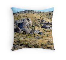 There's Gold in Them Thar' Hills Throw Pillow