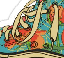 Floral Shoe Sticker