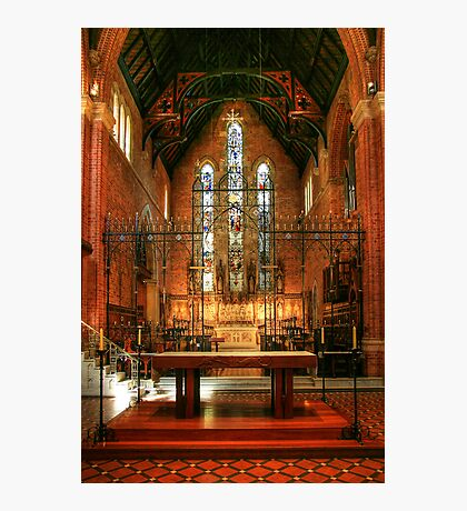 Inside St Georges Cathedral, Perth Photographic Print