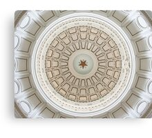 Capitol of Texas Ceiling Canvas Print