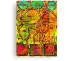Spiritual Pipelines Canvas Print