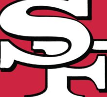 49ers Logo Weathered Sticker