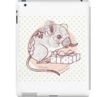 Present for You - Elephant Shrew [Pale orange] iPad Case/Skin