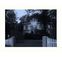 Oh That Old Place Art Print