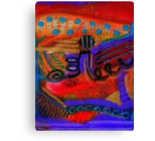 I Live Canvas Print