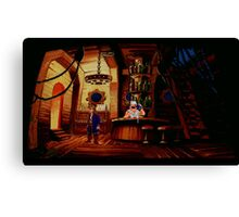 The barkeeper of Scabb Island Canvas Print
