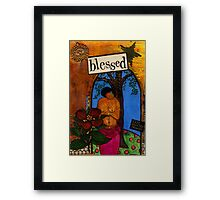 Blessed With Child Framed Print